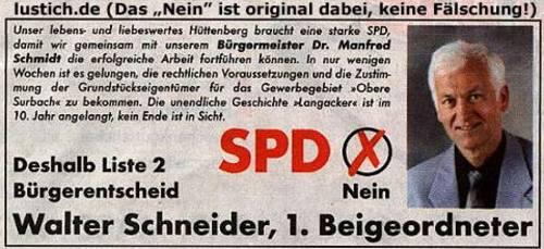 SPD? Nein!