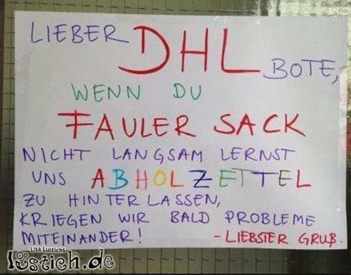 DHL-Bote