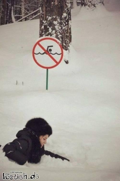 Schneeschwimmer