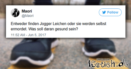 Die Wahrheit über Jogger