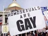 Homosexuelle sind Schwul