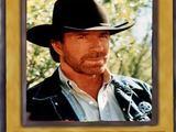 Chuck Norris als Yu-Gi-Oh-Karte