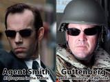 Agent Smith ist unser Verteidigungsminister