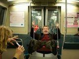 U-Bahn schaukel