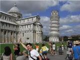 Fotos vom schiefen Turm in Pisa