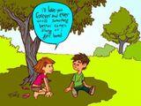 Ehrlicher Liebesschwur