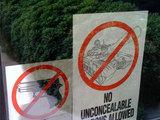 Verbot für Waffen