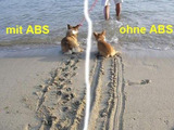 Mit und ohne ABS