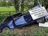 Vorsichtiger Fahrer