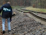 Erklärungen verbogene Schienen im Wendland 2