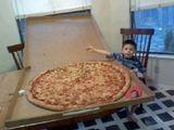 Pizza amerikanische Art
