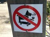 Hunde Verbotsschild