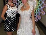 Luftiges Hochzeitskleid