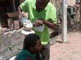 Ein besonderer Friseur