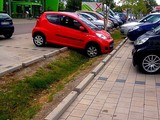 Fast perfekt eingeparkt