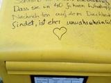 Schreibe Liebesbriefe