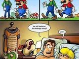 Mario und Bowser