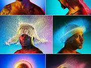 Wasser-Licht Frisuren