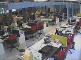Wasserschaden im Büro