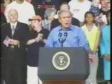 Bush langweilt