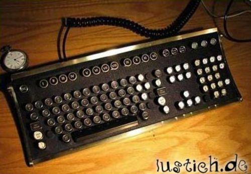 Altmodische Tastatur