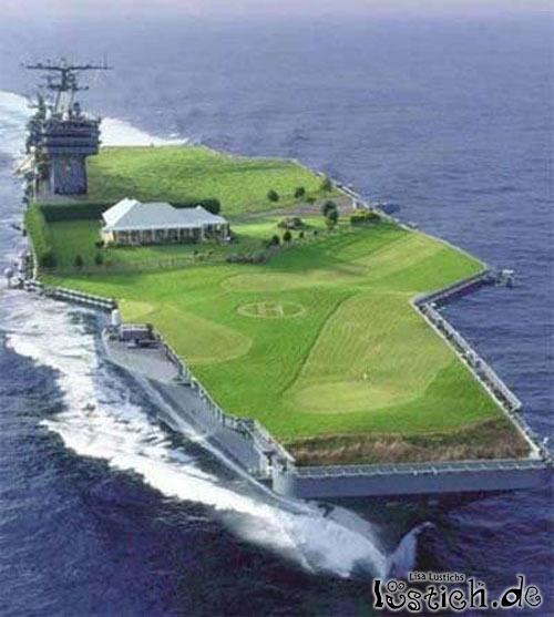 Umbau eines Flugzeugträgers