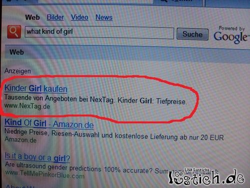 Kinder Girl kaufen