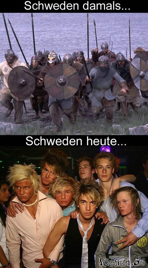 Schweden damals und heute