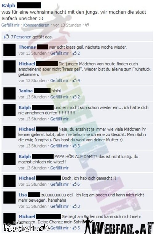 Facebook-Vater