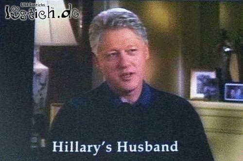 Hillarys Ehemann
