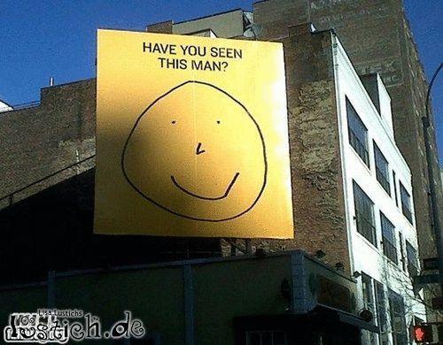 Mann gesucht