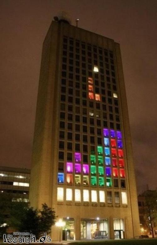 Das Tetrishaus