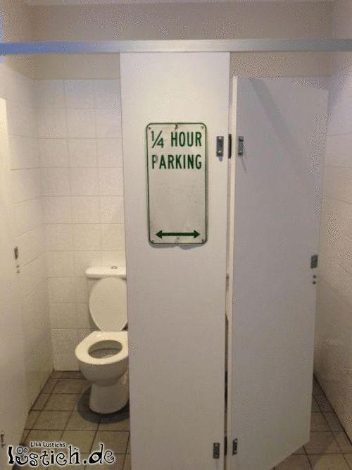 Nur 15 Minuten parken