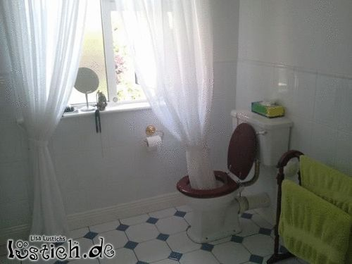 Toilettenwäsche