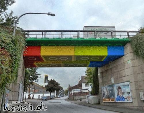 Legobrücke