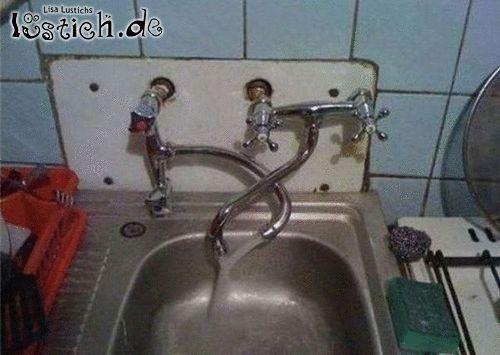 Cooles Waschbecken