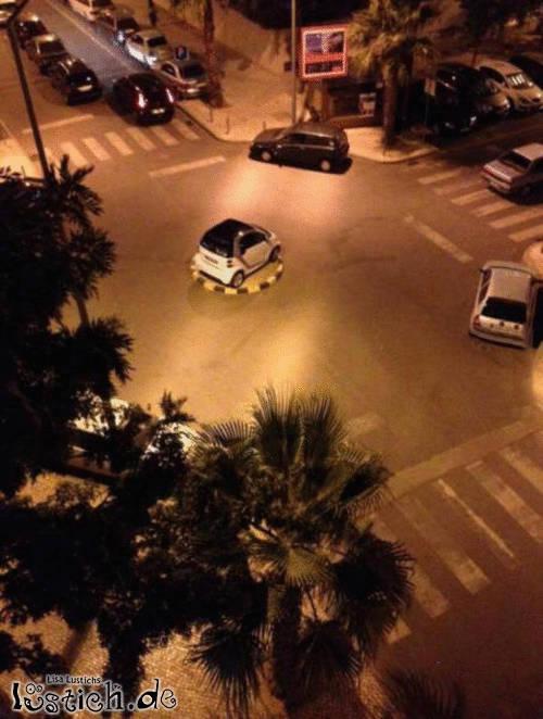 Kleiner Parkplatz