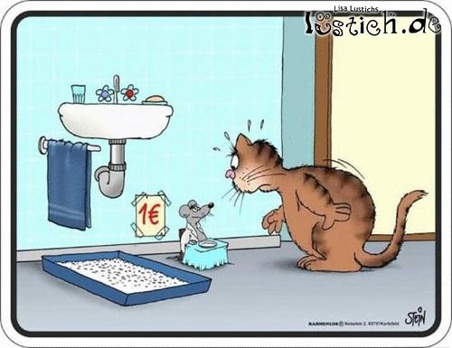 Toilettennutzung