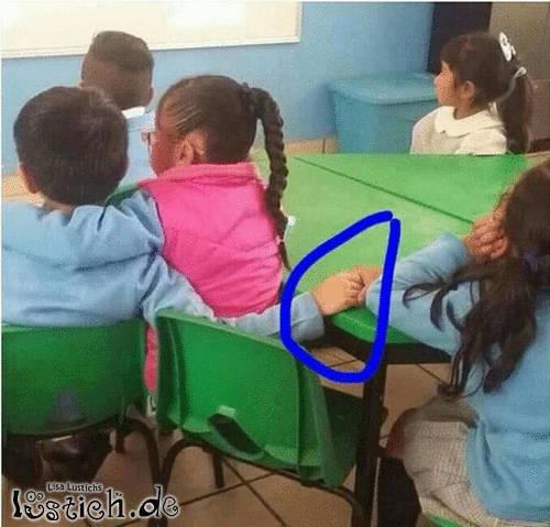 Liebe im Kindergarten