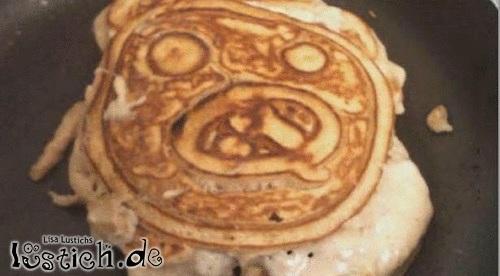 Pfannkuchengesicht