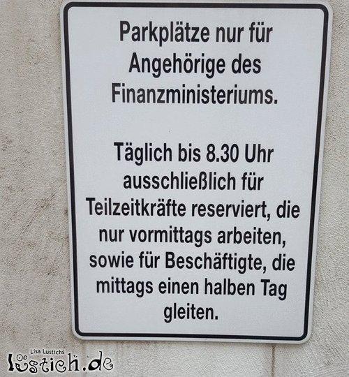 Parkplatzchaos