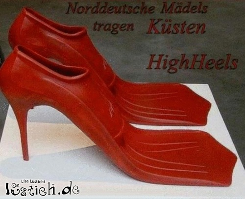 Nordische High Heels