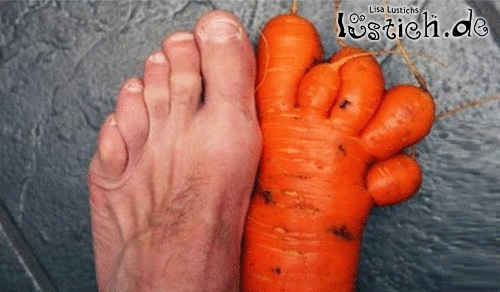 Karottenfüße