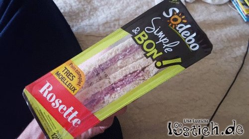 Sandwich mit Geschmack
