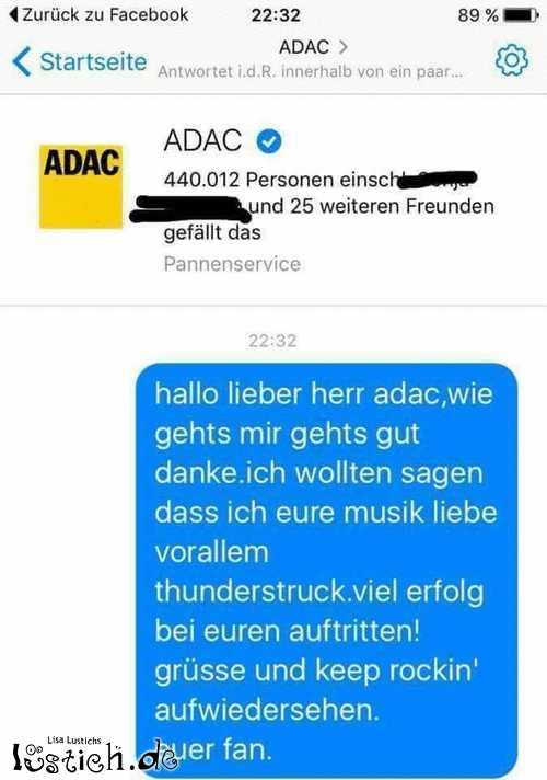 ADAC macht Musik