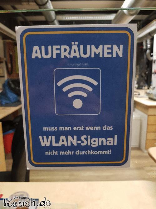 Kein WLAN-Signal mehr