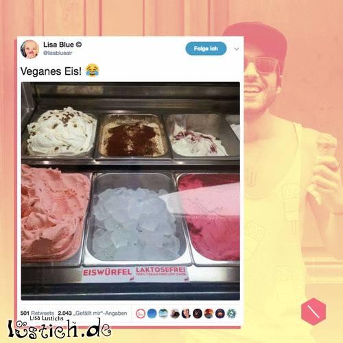 Eis für Veganer