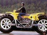Riesiges Motorrad
