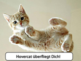 Hovercat im Training