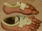 Neue Füße
